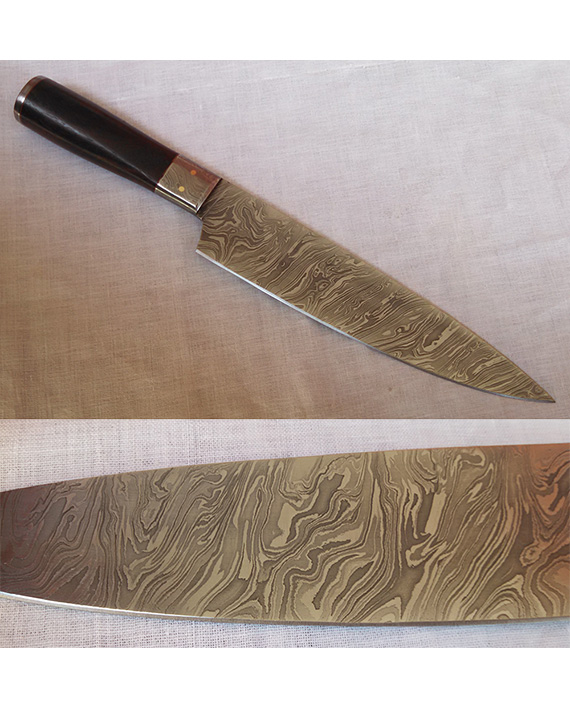 Home / Knives U0026 Daggers / Damascus Kitchen Knives / Damascus Chef Knife  DKK02