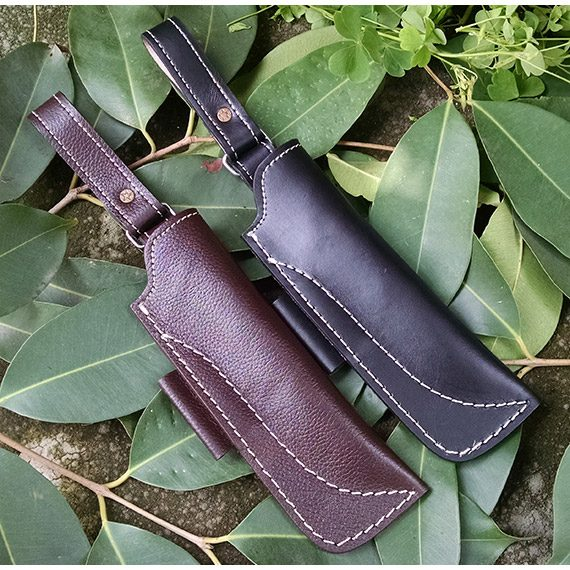 Hunting Knife Sheath Pure Leather Ksh03 Multiplex Traders