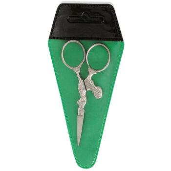 scissors pvc pouch